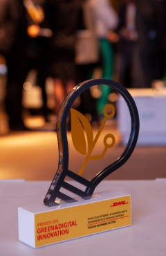 Passion Motorbike Factory ganador del certamen DHL Green & Digital Innovation celebrado en España